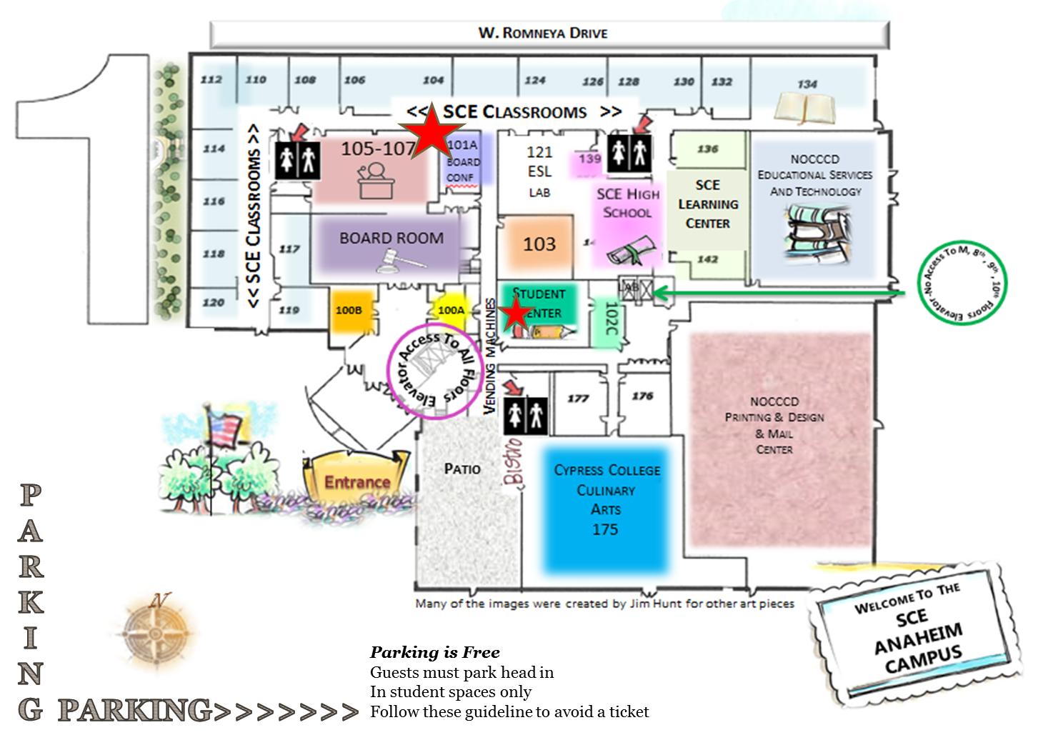 Nocccd Anaheim Campus Map.Student Learning Outcomes Slo Symposium Asccc
