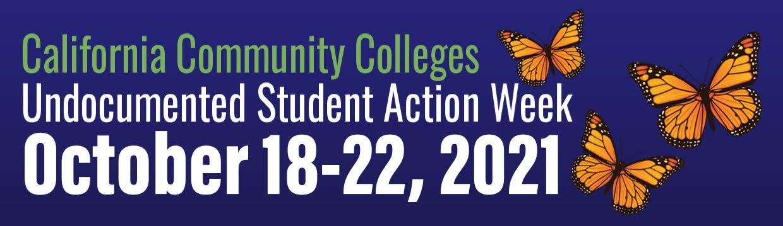 Undocumented Student Action Week Logo