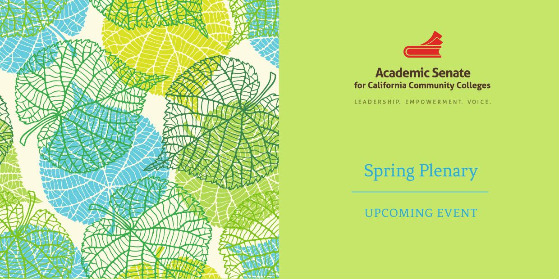 Spring Plenary